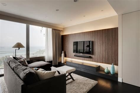 wood feature wall interior design singapore interior design ideas
