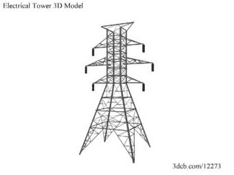 electrical tower 3d model youtube