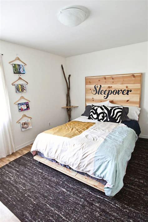 DIY Simple Bed Frame ? A Beautiful Mess