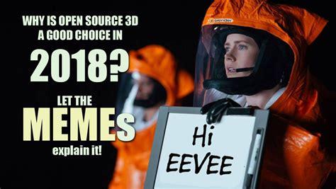 meme blender blender 180 s eevee memes why open source 3d is choice