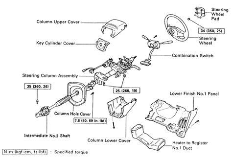 Toyota Steering Column 1995 Toyota Land Cruiser Wiring Diagram 1995 Free Engine
