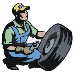 man working   tire clipart royalty  gif jpg wmf clipart  graphics factory