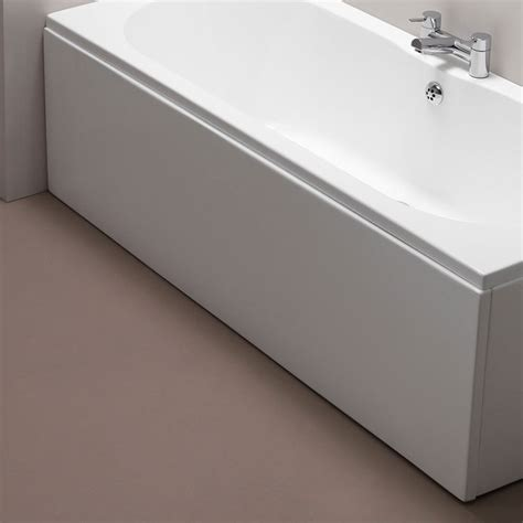bathtub panel pura 1800mm white bath side panel
