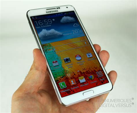 samsung galaxy note 3 on samsung galaxy note 3 test complet smartphone les num 233 riques
