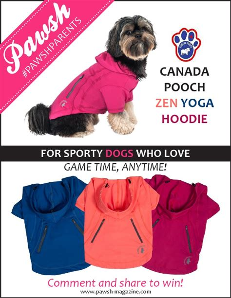 Giveaway Canada - pawshparents giveaway day two pawsh magazine