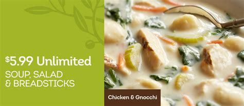 olive garden special 午餐好選擇 olive garden 午餐吃到飽只需 5 99 until 10 23 哇靠 紐約