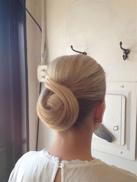 by request 1940s chignon variation 5 hairstyles you ll learn to do in cosmetology school
