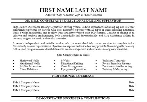 oilfield resume templates field consultant resume template premium resume