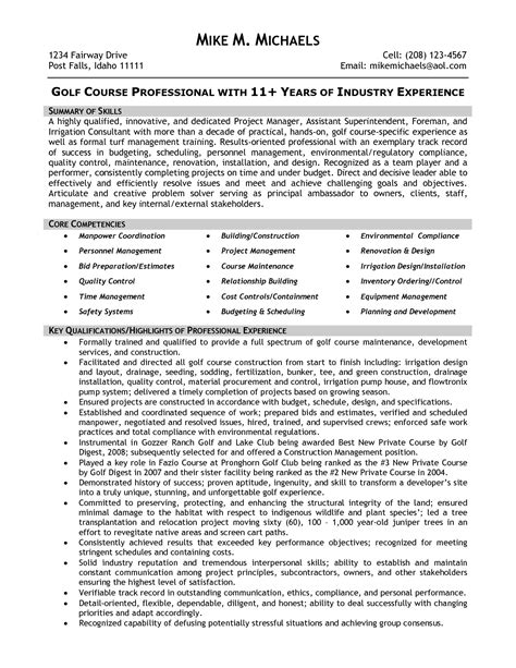 assistant construction superintendent resume sle superintendent resume exles exles of resumes