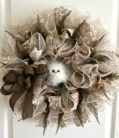 Decorative Wreath How To Make Burlap And Mesh Wreaths