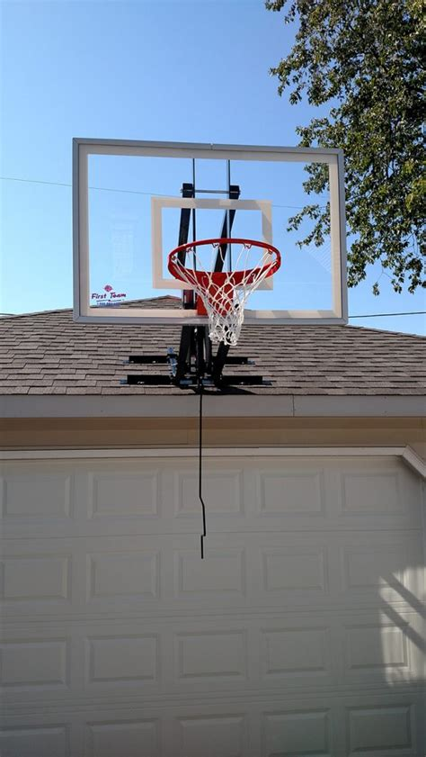 Basketball Backboard Garage Mount by Garage Mounted Basketball Hoop Veryideas Co
