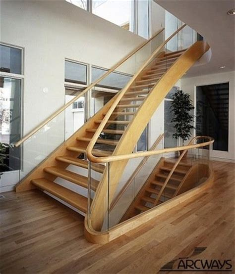 wood and glass staircase railing 14 ideas to elevate