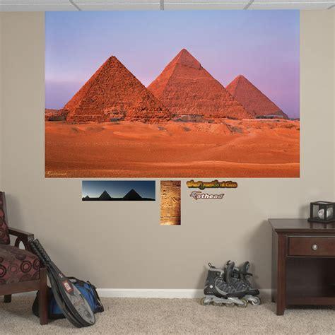 Egyptian Wall Mural egyptian pyramids mural realbig wall decal