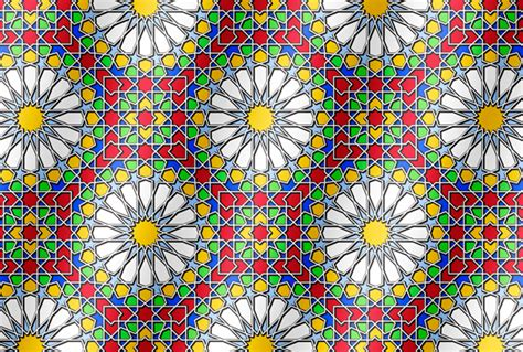 islamic pattern on glass dekeonline