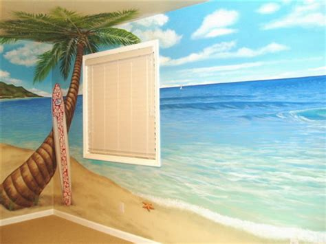 beach murals for bedrooms 10 tips for beach theme home d 233 cor