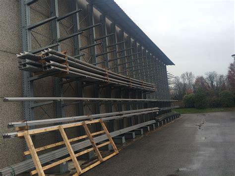 scaffali cantilever usati cantilever usato scaffali e scaffalature monofronte e