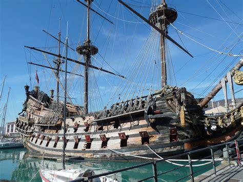 old boat genoa genova in february 2012