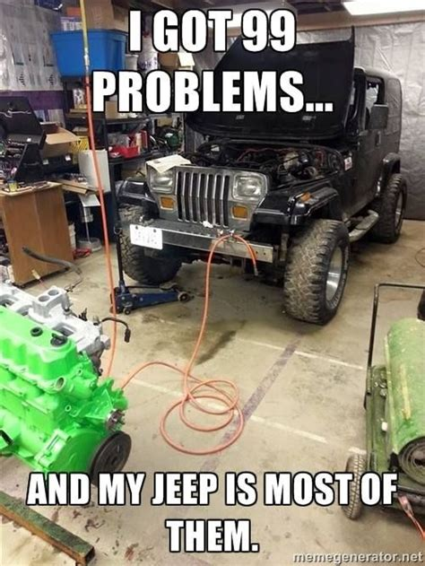 automatic jeep meme the truth of all 4x4 s not just jeeps but what can you