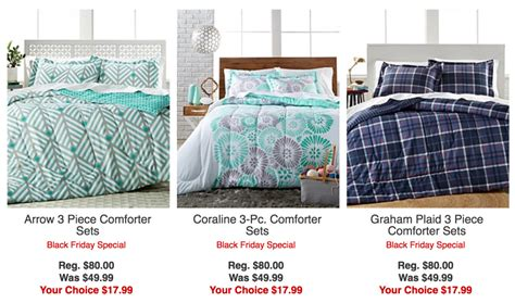 black friday deals on comfortable sets black friday special 3 comforter sets just 17 99 at macy s regularly 80 00