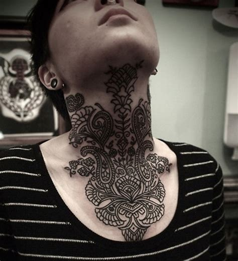 cool henna tattoos 51 adorable neck henna tattoos