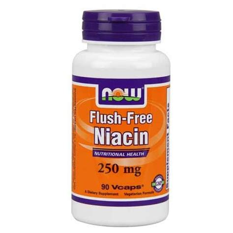 Garden Of Niacin Now Foods Niacin Flush Free 250 Mg 90 Vegetable Capsules