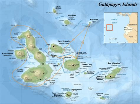 galapagos map galapagos map for 2 megamoon