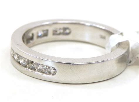 ladies  white gold diamonds wedding band bright jewelers
