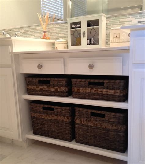 bathroom cabinets with baskets gorgeous bathroom cabinet joanna s collections country