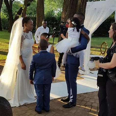 pearl thusi wedding photos walter mokoena and nosizwe vuso s wedding in photos