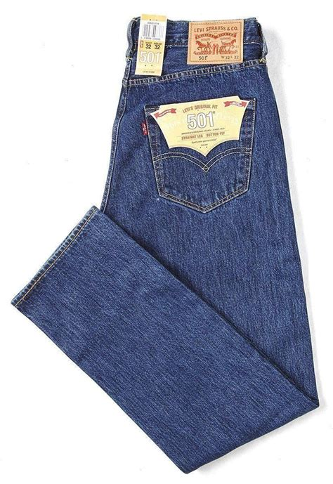 Celana Levis 501 Ori Impor levis 501 original fit classic leg button fly ebay