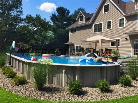 Landscaping Around Your Above Ground Pool Landscaping Around Above Ground Pool