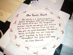 family quilt quotes quotesgram
