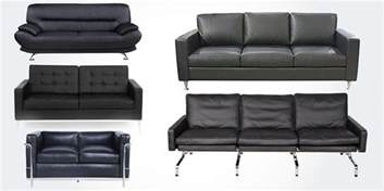 Leather Sofa Quality 15 Best High Quality Genuine Real Leather Sofa Couches In Black Bestlyy 2017 Best