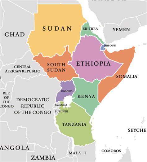 east africa mapscompany