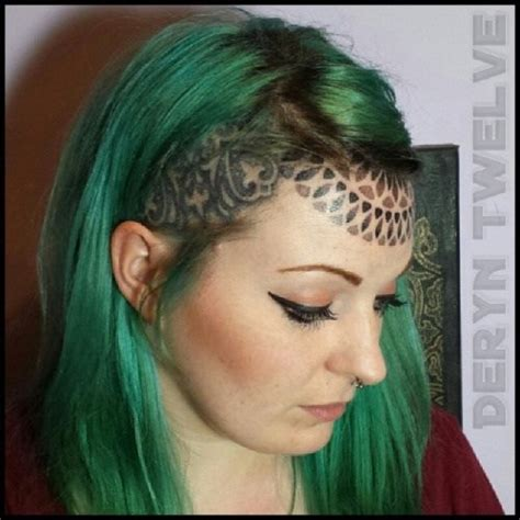 forehead tattoos awesome black and grey eyeball on forehead