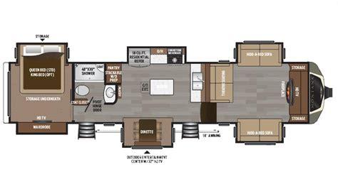 montana fifth wheel floor plans keystone montana 3731fl 5th wheel