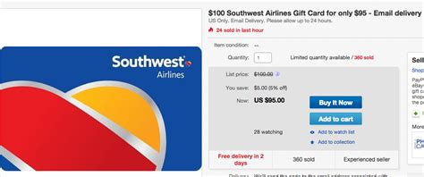 Southwest Gift Card Promotion - significant savings on southwest gift cards deals we like