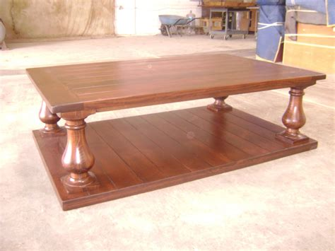 made pine coffee table by philip skinner furniture