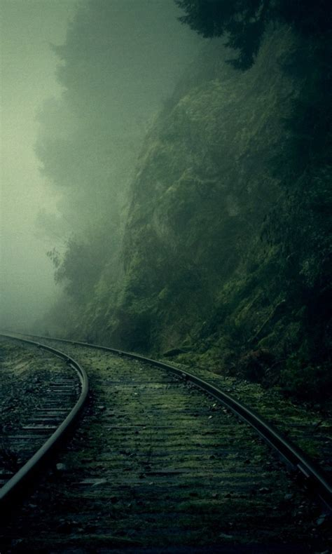 wallpaper android hd 480x800 480x800 dark cool railroad smartphone wallpapers hd mobile