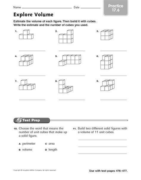 printable volume quiz volume counting cubes worksheet worksheets releaseboard