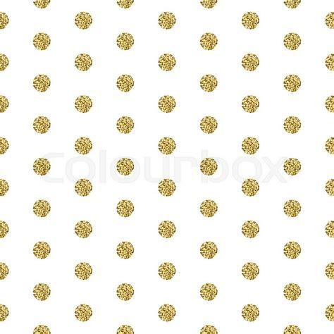 gold glitter pattern vector gold foil shimmer glitter polkadot white seamless pattern