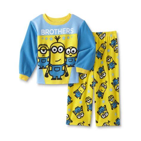 universal despicable me toddler boys pajama shirt