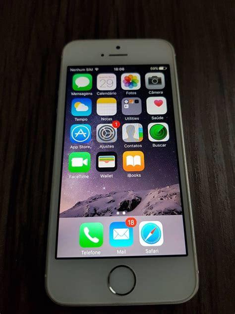 e iphone 5s iphone 5s 16gb branco r 900 00 em mercado livre