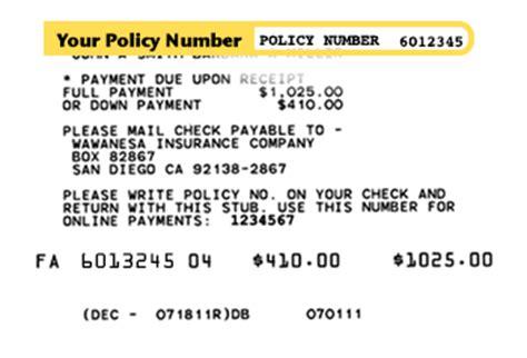 Pay Your Bill Online   Wawanesa USA   California