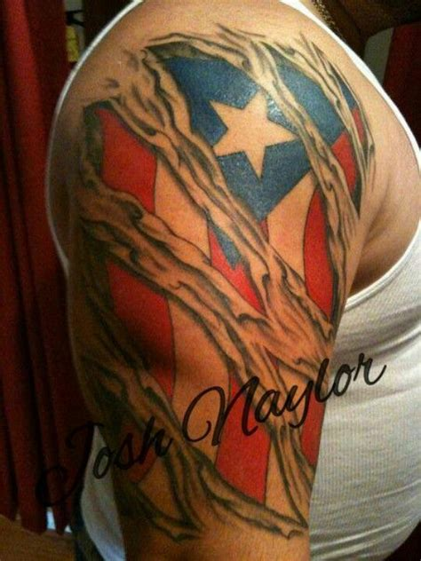 puerto rican tattoo usa american flag in the skin tattoos south elgin