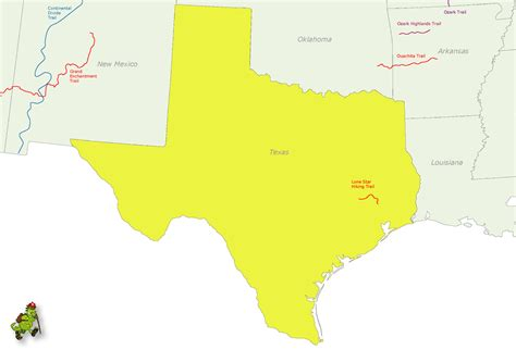 united states map texas texas