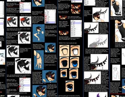 paint tool sai black hair tutorial collection of paint tool sai tutorials crunch