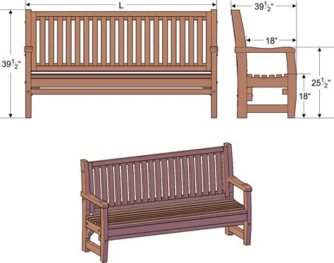 bench sizes handcrafted wood bench with slats custom redwood seating