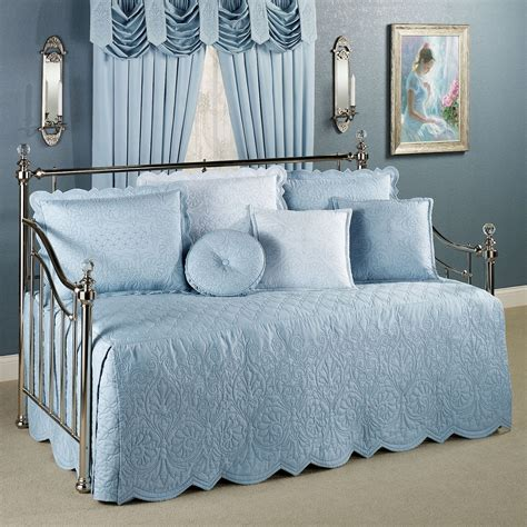 evermore blue daybed bedding set