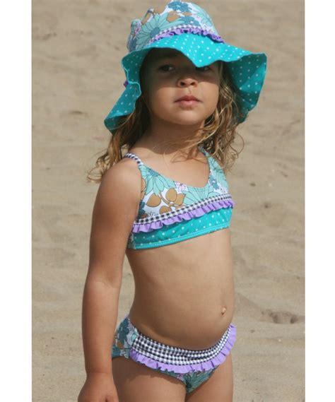 zulily little girls swimwear purple floral anything goes bikini toddler girls zulily